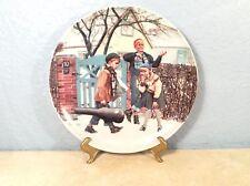 Kurt Ard'S 'Cousins Playing' Bing & Grondahl Copenhagen Porcelain Plate #5919C
