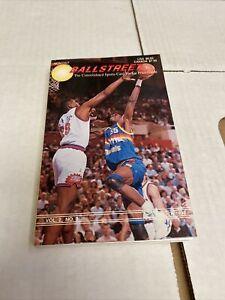 March 1992 Ballstreet Book With Cards Mint Shaq Magic Emmitt Hull Thomas