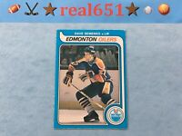 1979+ O-Pee-Chee DAVE SEMENKO Lot x 5 Vintage OPC | Nice Rookie #371 | Oilers RC