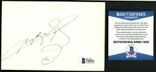 Sugar Ray Leonard signed autograph 4x6 Index Card Boxing Hall of Fame BAS