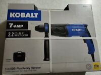 NEW! Kobalt SDS-Plus 7 Amp Keyless Rotary Hammer Drill, K7RH-03