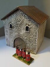 28mm ROMAN TWO STOREY HOUSE  -GR27P - PAINTED - GANGS OF ROME - SENT FIRST CLASS