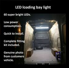 vw Caddy 2000 on Interior LED rear Loading bay Light Kit 1.6 1.9 2 TDi SDi Maxi