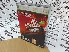 FORZA MOTORSPORT 2 EDIZIONE LIMITATA MICROSOFT XBOX 360 PAL ITALIANO COME NUOVO