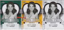 (3) 2017 POP CENTURY STUNNING STARLETS GOLD PROOF: DAWN WELLS #1/1 BLANK BACK
