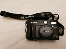 Canon Power Shot G2 Camera 4 MP in rare BLACK colour