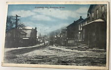 vintage Postcard Coaldale Pennsylvania PA coal mining town Looking West
