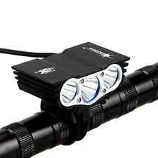 Neu X3 9000LM T6 3 LED XM-L FahrradLicht Bikelight Kopf Beleuchtung Scheinwerfer