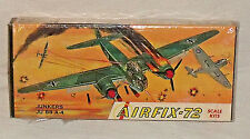 Airfix 72 Model Kit Junkers JU 88 A-4 Vintage