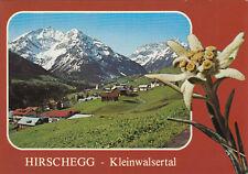 Alte Postkarte - Hirschegg - Kleinwalsertal
