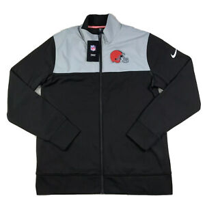 Nike Cleveland Browns NFL On-Field Full Zip Jacket NKB6-082M 2017 size XL