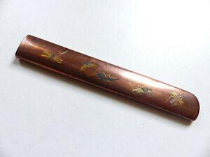 ANTIQUE 19th CENTURY KOZUKA JAPANESE EDO ANTIQUE FOR KOSHIRAE (#5)