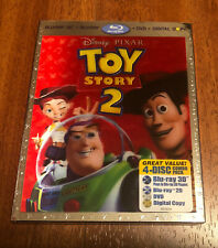 Toy Story 2 3D Blu-Ray/DVD/Digital 4-Disc Set with Lenticular Slipcover US NEW!