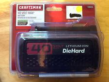 Craftsman 40 Volt Max Lithium Lawn & Garden Tool Battery - REAL CRAFTSMAN