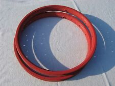 """ACS Z-Rims red old school vintage BMX used 20"""""""