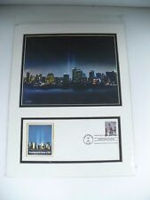 USPS Pictorial Postmarks 2002 Twin Towers Remembering The Heroes Of 2001