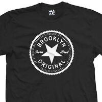 Brooklyn Original Inverse T-Shirt - Born Bred in Crooklyn Tee - All Sizes Colors