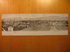 ~1910 AK Doppelkarte Pisa Klappkarte Italy
