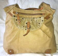 Fossil WEEKENDER Large Khaki Canvas Tote Bag ZB2689