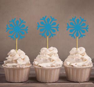Darling Souvenir  Christmas Celebration Snowflake Winter Cupcake-hrX