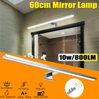 30/60CM Murale Lumière LED Intérieur Maquillage Miroir salle bain Couloir Lampe