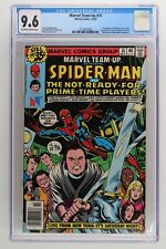 Marvel Team-Up #74 - Marvel 1978 CGC 9.6 Dan Aykroyd, John Belushi, Jane Curtin,