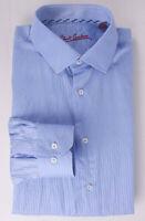 *.* Robert Graham Shirt Blue Size 16/41 *C1005a6