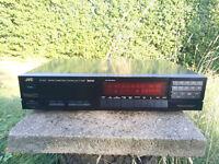 JVC FX-1100 BK Stereo Radio Tuner programmierbar 40Sender, Optical Link, schwarz