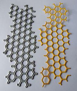 Long Honeycomb  Metal Die - Mixed Media - New - FREE P&P Texture/Grunge
