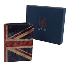Mala Leather Union Jack Portamonete con protezione RFID Regalo Inscatolato /& POCKET CARTA