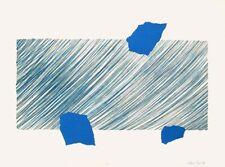 """Alan Cox, """"sweep field"""", 1971 originallithografie, autografiado, autografiada"""