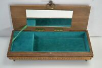 Reuge Wood Music Jewelry Box w/ Mirror (Lara's Theme, Dr. Zhivago) Made in Italy