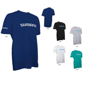 Shimano Ring Spun Cotton SS Tee Fishing Shirt- Pick Color/Size-Free Ship