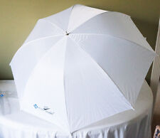 "LUSANA PHOTO STUDIO WHITE PREMIUM UMBRELLA REFLECTOR / DIFFUSER 44"" NEW"
