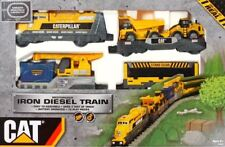 CAT Iron Diesel Train Toy Magnetic Assemble Set 55450