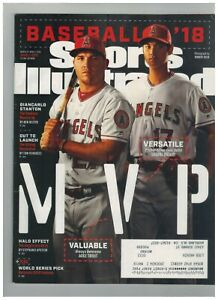 March 26- April 2, 2018 Mike Trout/Shohei Ohtani cover