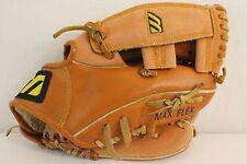 "Mizuno Max Flex 10"" Baseball Glove Mitt Right Handed Thrower Youth Leather H2"