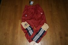 NBA Adidas Cleveland Cavs Cavaliers Warm Up Tear Away Button Down Pants Sz Large