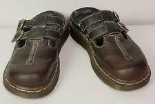 Dr Marten women's closed toe sandals double buckle sz 3uk, 5us