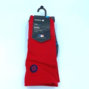 New Mens Stance MLB Los Angeles Angels Big League Diamond Pro Crew Socks 9-12 L