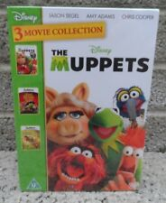 The Muppets - 3 movie collection - Disney - DVD box set - Brand new & sealed