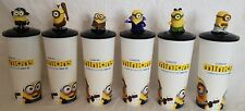 Minions Movie Theater Exclusive Cup Topper Set #2 with 44 oz Cups