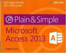 Microsoft Access 2013 by Andrew Couch (2013, Paperback, New Edition)
