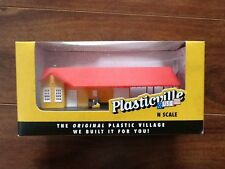 Bachmann 1/160 N Scale Built Up Freight Station Item # 45907 Factory Sealed