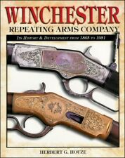 WINCHESTER REPEATING ARMS GUN BOOK - History & Development 1865-1981 * NEW BOOK