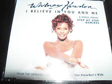 Whitney Houston I believe In You & Me / Step By Step Remixes Australian CD Singl