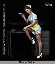 Mantis Miniatures 1:35 Pin-up Girl #4 without Table - Resin Figure Kit #35094