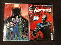 Batman 89 3rd Print Nightwing 70 2nd Print 2020 DC comics First App Punchline NM