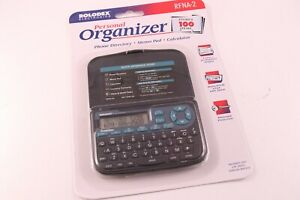 Electronic Rolodex RFNA-2 Phone Directory Pocket Size Calculator New in Package