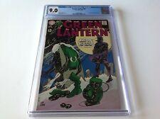 GREEN LANTERN 68 CGC 9.0 COOL GRAVEYARD SNOW COVER DC COMICS